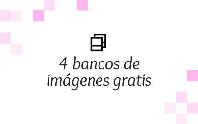 4 bancos de imágenes gratis