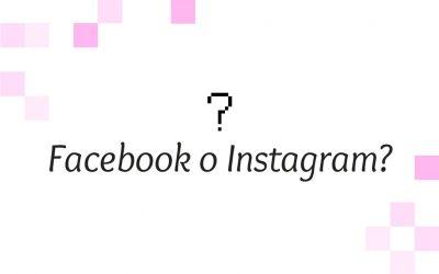 Facebook o Instagram?